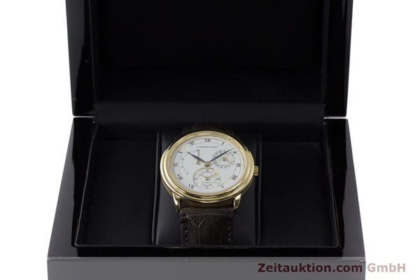 Used luxury watch Audemars Piguet Dual Time 18 ct gold automatic Kal. 2129  | 162072 07