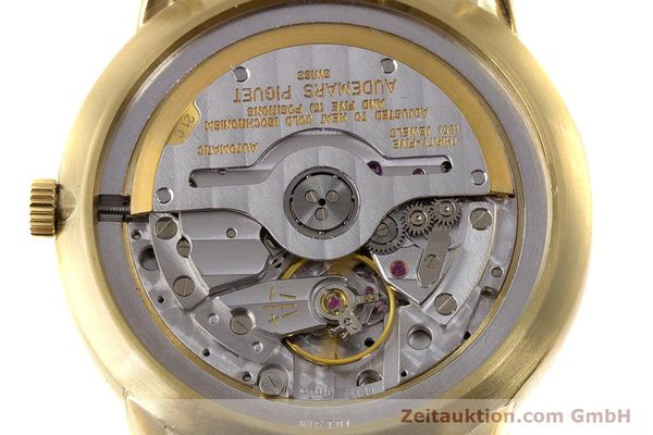 Used luxury watch Audemars Piguet Dual Time 18 ct gold automatic Kal. 2129  | 162072 10