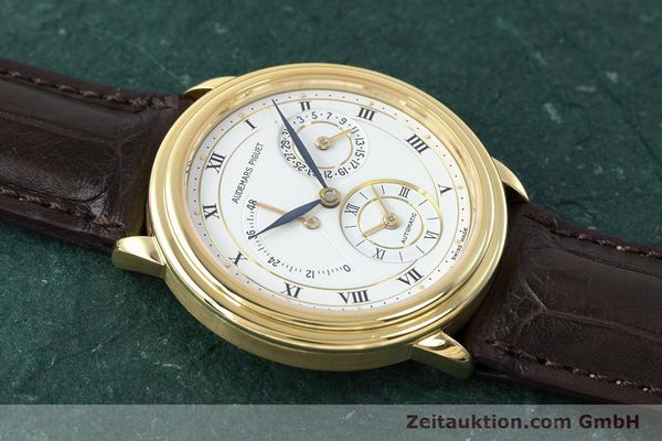 Used luxury watch Audemars Piguet Dual Time 18 ct gold automatic Kal. 2129  | 162072 15