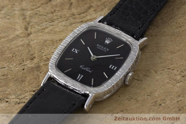 Used luxury watch Rolex Cellini 18 ct gold manual winding Kal. 1600 Ref. 684 VINTAGE  | 162073 01