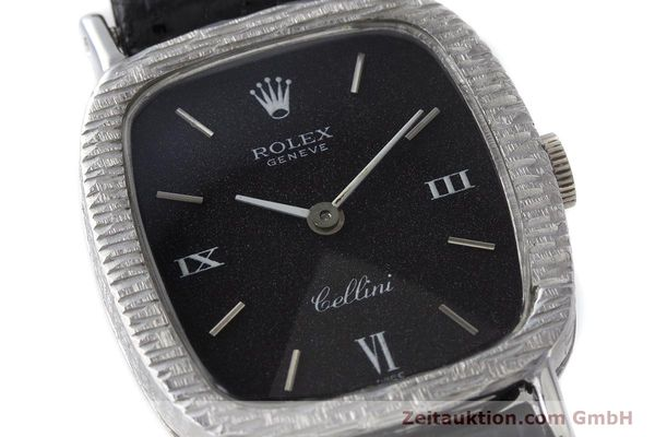 Used luxury watch Rolex Cellini 18 ct gold manual winding Kal. 1600 Ref. 684 VINTAGE  | 162073 02