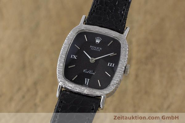 Used luxury watch Rolex Cellini 18 ct gold manual winding Kal. 1600 Ref. 684 VINTAGE  | 162073 04