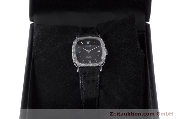 Used luxury watch Rolex Cellini 18 ct gold manual winding Kal. 1600 Ref. 684 VINTAGE  | 162073 07