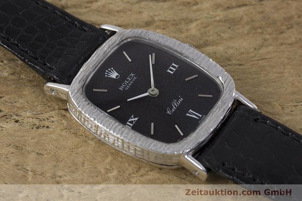 Used luxury watch Rolex Cellini 18 ct gold manual winding Kal. 1600 Ref. 684 VINTAGE  | 162073 13
