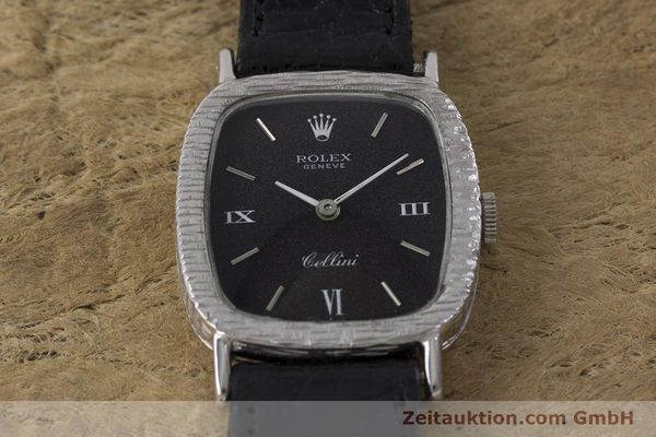 Used luxury watch Rolex Cellini 18 ct gold manual winding Kal. 1600 Ref. 684 VINTAGE  | 162073 14
