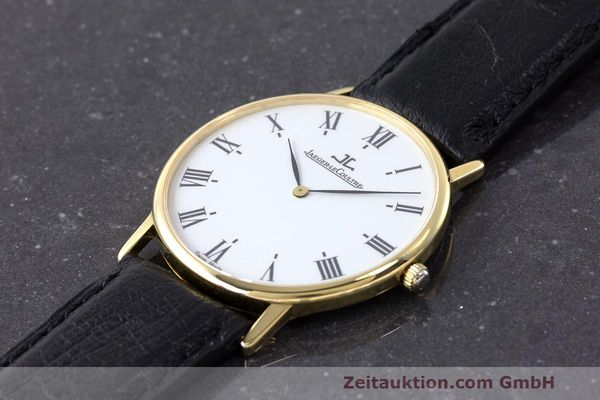 Used luxury watch Jaeger Le Coultre * 18 ct gold quartz Kal. 669 Ref. 111.1.09  | 162075 01