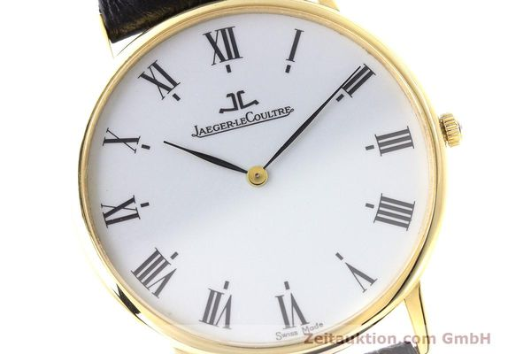 Used luxury watch Jaeger Le Coultre * 18 ct gold quartz Kal. 669 Ref. 111.1.09  | 162075 02