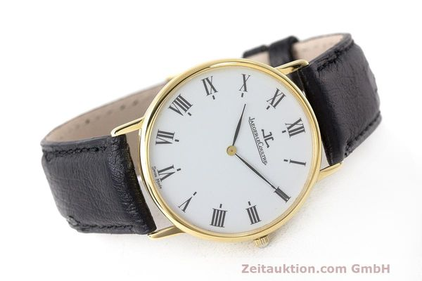 Used luxury watch Jaeger Le Coultre * 18 ct gold quartz Kal. 669 Ref. 111.1.09  | 162075 03