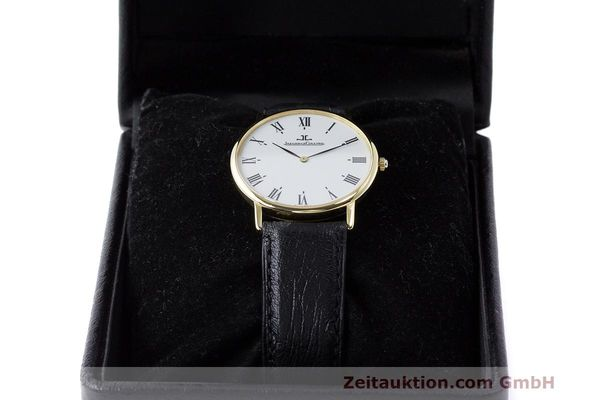 Used luxury watch Jaeger Le Coultre * 18 ct gold quartz Kal. 669 Ref. 111.1.09  | 162075 07