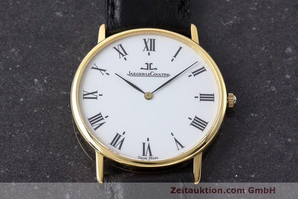 Used luxury watch Jaeger Le Coultre * 18 ct gold quartz Kal. 669 Ref. 111.1.09  | 162075 13