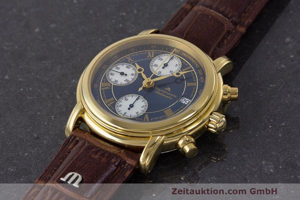 Used luxury watch Maurice Lacroix Croneo chronograph steel automatic Kal. ETA 7750 Ref. 03700  | 162076 01