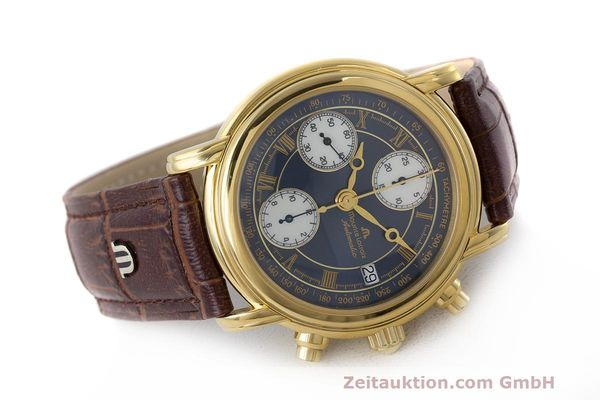 Used luxury watch Maurice Lacroix Croneo chronograph steel automatic Kal. ETA 7750 Ref. 03700  | 162076 03