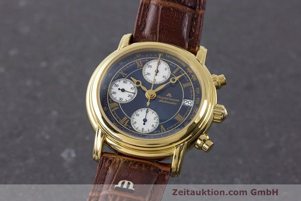Used luxury watch Maurice Lacroix Croneo chronograph steel automatic Kal. ETA 7750 Ref. 03700  | 162076 04