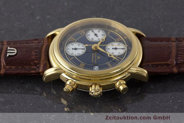 Used luxury watch Maurice Lacroix Croneo chronograph steel automatic Kal. ETA 7750 Ref. 03700  | 162076 05