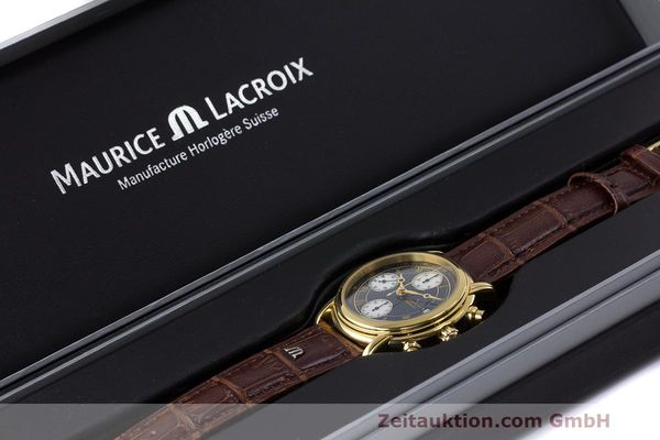 Used luxury watch Maurice Lacroix Croneo chronograph steel automatic Kal. ETA 7750 Ref. 03700  | 162076 07