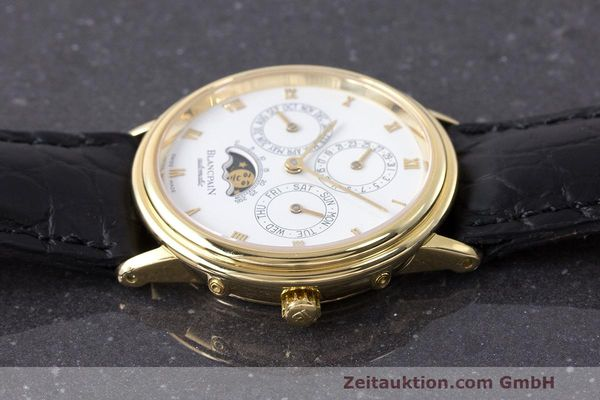 Used luxury watch Blancpain Perpetual Calendar 18 ct gold automatic Kal. 953  | 162083 05