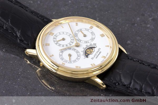 Used luxury watch Blancpain Perpetual Calendar 18 ct gold automatic Kal. 953  | 162083 15