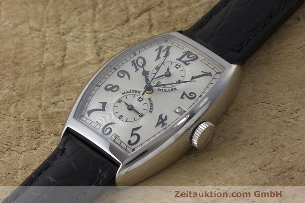 Used luxury watch Franck Muller Master Banker steel automatic Kal. 2800 Ref. 5850 MB  | 162084 01