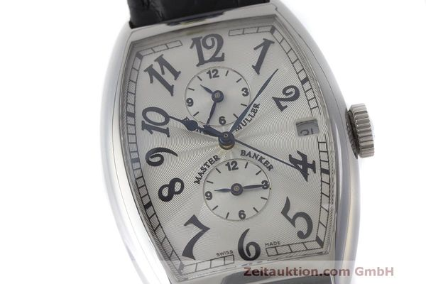 Used luxury watch Franck Muller Master Banker steel automatic Kal. 2800 Ref. 5850 MB  | 162084 02