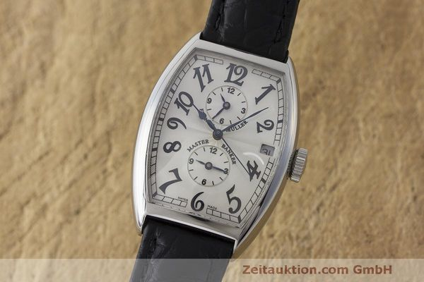 Used luxury watch Franck Muller Master Banker steel automatic Kal. 2800 Ref. 5850 MB  | 162084 04