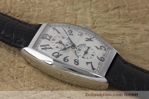 Used luxury watch Franck Muller Master Banker steel automatic Kal. 2800 Ref. 5850 MB  | 162084 12