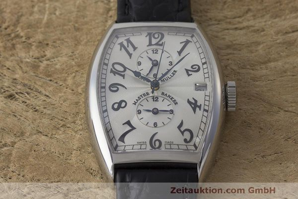 Used luxury watch Franck Muller Master Banker steel automatic Kal. 2800 Ref. 5850 MB  | 162084 13
