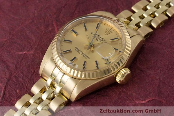 Used luxury watch Rolex Lady Datejust 18 ct gold automatic Kal. 2030 Ref. 6917  | 162085 01