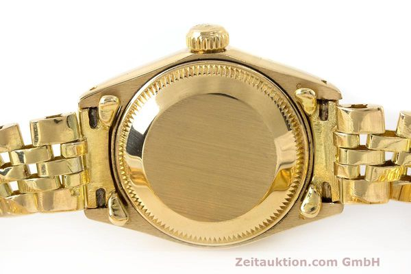 Used luxury watch Rolex Lady Datejust 18 ct gold automatic Kal. 2030 Ref. 6917  | 162085 08