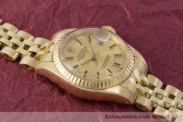 Used luxury watch Rolex Lady Datejust 18 ct gold automatic Kal. 2030 Ref. 6917  | 162085 15