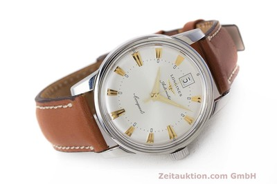 LONGINES CONQUEST STEEL AUTOMATIC KAL. ETA 2824-2 LP: 890EUR [162091]