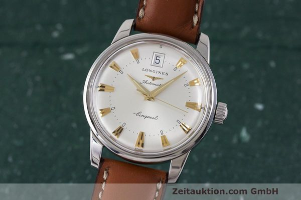 LONGINES CONQUEST ACIER AUTOMATIQUE KAL. ETA 2824-2 LP: 890EUR [162091]
