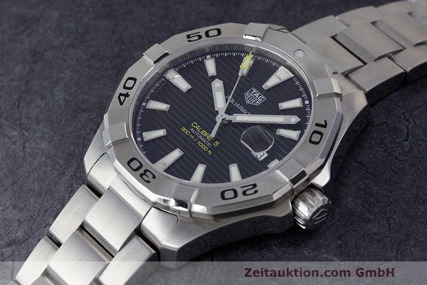 Used luxury watch Tag Heuer Aquaracer steel automatic Kal. 5 Sellita SW200-1 Ref. WAY2010  | 162092 01