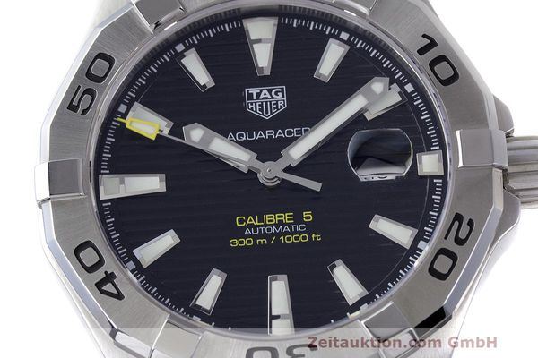 Used luxury watch Tag Heuer Aquaracer steel automatic Kal. 5 Sellita SW200-1 Ref. WAY2010  | 162092 02