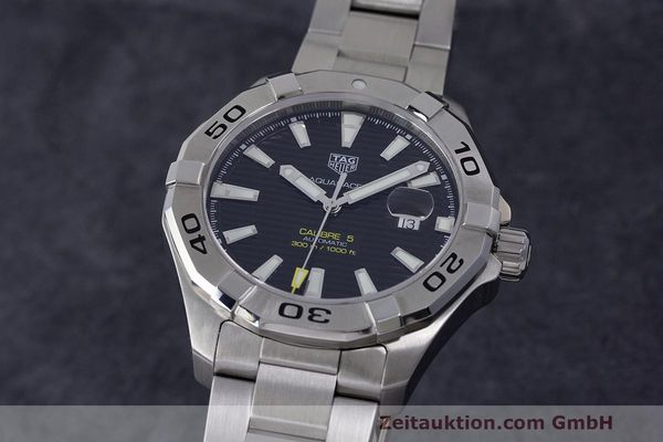 Used luxury watch Tag Heuer Aquaracer steel automatic Kal. 5 Sellita SW200-1 Ref. WAY2010  | 162092 03