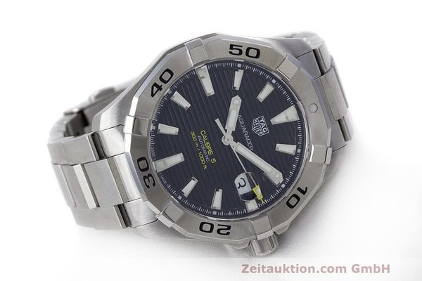 Used luxury watch Tag Heuer Aquaracer steel automatic Kal. 5 Sellita SW200-1 Ref. WAY2010  | 162092 04
