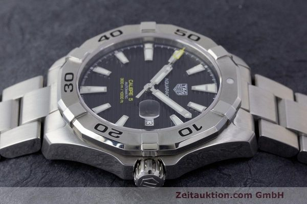 Used luxury watch Tag Heuer Aquaracer steel automatic Kal. 5 Sellita SW200-1 Ref. WAY2010  | 162092 05
