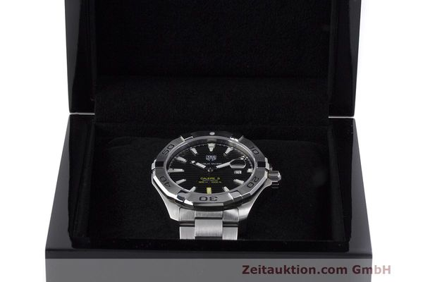 Used luxury watch Tag Heuer Aquaracer steel automatic Kal. 5 Sellita SW200-1 Ref. WAY2010  | 162092 07