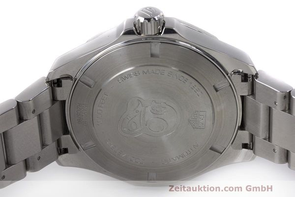 Used luxury watch Tag Heuer Aquaracer steel automatic Kal. 5 Sellita SW200-1 Ref. WAY2010  | 162092 09