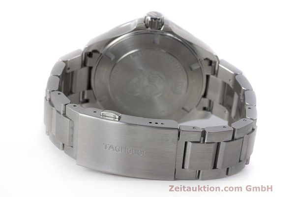 Used luxury watch Tag Heuer Aquaracer steel automatic Kal. 5 Sellita SW200-1 Ref. WAY2010  | 162092 12
