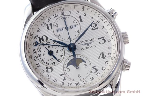 Used luxury watch Longines Master Collection chronograph steel automatic Kal. L678.2 Ref. L2.673.4  | 162097 02