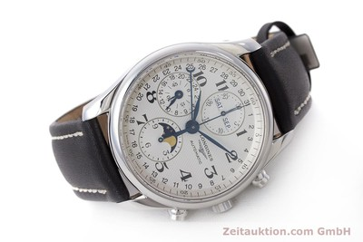 LONGINES MASTER COLLECTION CHRONOGRAPHE ACIER AUTOMATIQUE KAL. L678.2 LP: 2770EUR [162097]