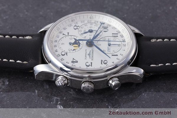 Used luxury watch Longines Master Collection chronograph steel automatic Kal. L678.2 Ref. L2.673.4  | 162097 05