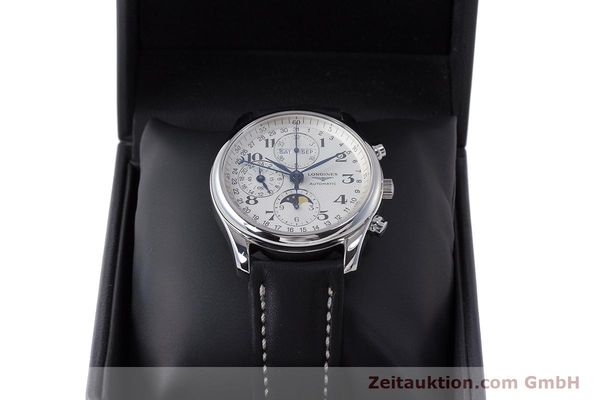 Used luxury watch Longines Master Collection chronograph steel automatic Kal. L678.2 Ref. L2.673.4  | 162097 07