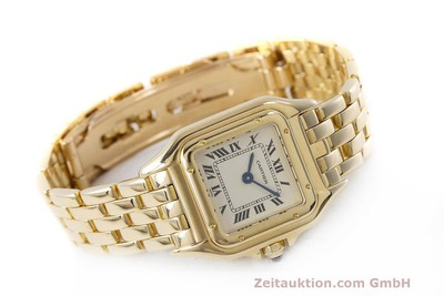 CARTIER PANTHERE 18 CT GOLD QUARTZ KAL. 157.06 [162099]