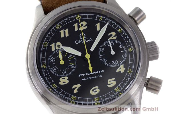 Used luxury watch Omega Dynamic chronograph steel automatic Kal. 1138 ETA 2890-2 Ref. 1750310  | 162102 02