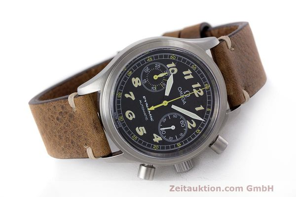 Used luxury watch Omega Dynamic chronograph steel automatic Kal. 1138 ETA 2890-2 Ref. 1750310  | 162102 03