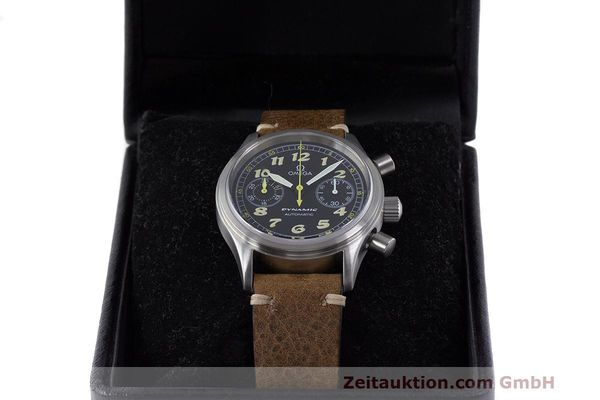 Used luxury watch Omega Dynamic chronograph steel automatic Kal. 1138 ETA 2890-2 Ref. 1750310  | 162102 07