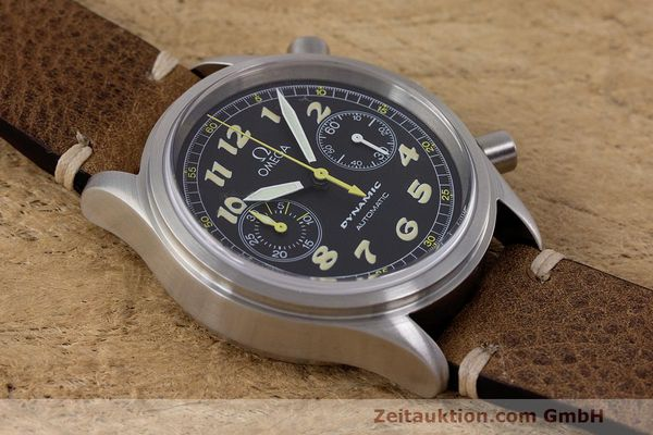 Used luxury watch Omega Dynamic chronograph steel automatic Kal. 1138 ETA 2890-2 Ref. 1750310  | 162102 15