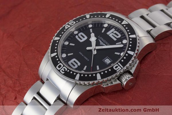 Used luxury watch Longines Hydro Conquest steel quartz Kal. L263.2 ETA 955412 Ref. L3.640.4  | 162104 01