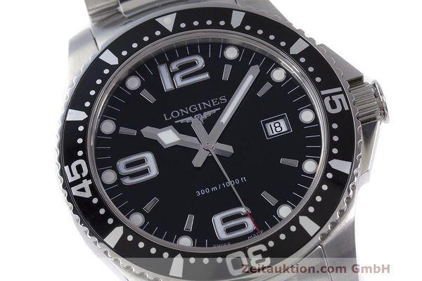 Used luxury watch Longines Hydro Conquest steel quartz Kal. L263.2 ETA 955412 Ref. L3.640.4  | 162104 02